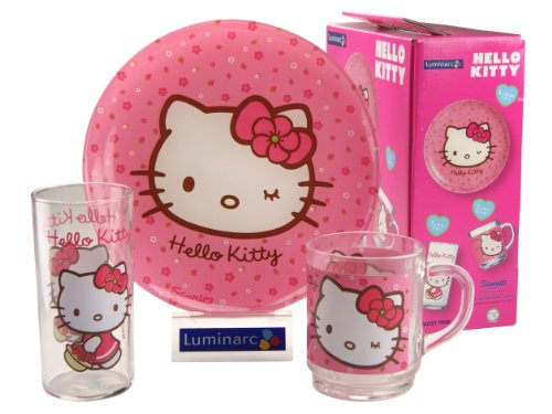 luminarc-9205483-coffret-3-pices-hello-kitty-sweet-rose-verre-21-x-9-x-21-cm
