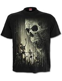 Spiral Direct - T-shirt - Col Rond - Homme noir noir