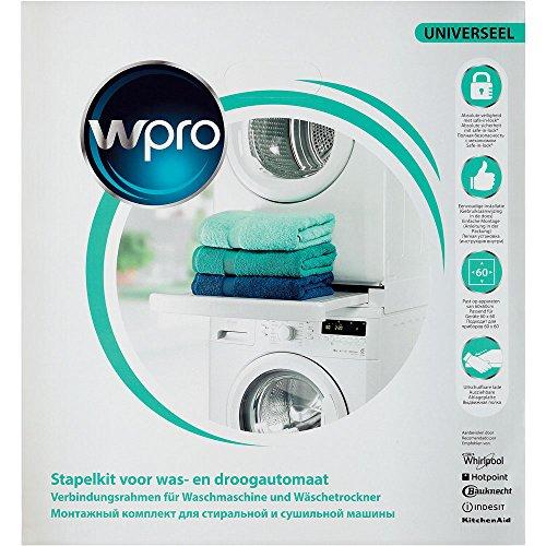 comprare on line Wpro SKS101 Kit di accatastamento per lavatrici e asciugatrici prezzo