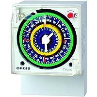 Orbis de Inodoro QRSD 230 V Interruptor horario analógico Universal, OB051223