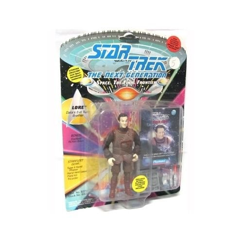 Star Trek The Next Generation Lore 4 inch Action Figure - NEW