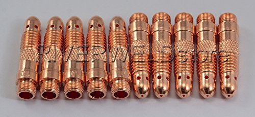 10 N30 TIG Collet Corps 0,1 cm & 1.0 mm lampe torche TIG SR DB PTA WP 17 18 26 10