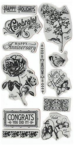 hampton-art-foam-graphic-45-time-to-flourish-cling-stamps-2
