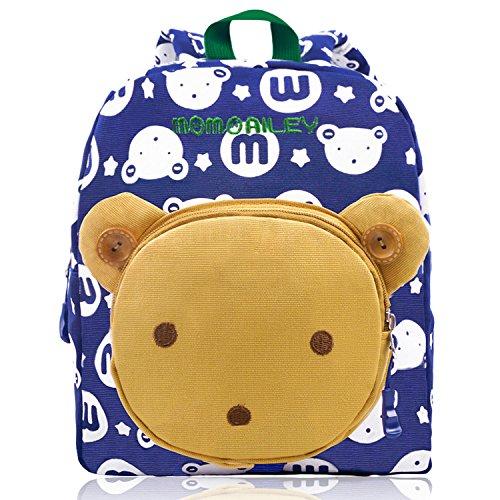 Imagen de vox  infantil para niños pequeña guarderia bebé chicas bolsa escuela azul