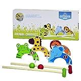 Outdoor - 0713005 - Set De Croquet - Multicolore