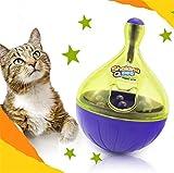 Uni Best Hund Katze Interaktives Stehaufmännchen Smarter IQ Treat Ball unverwüstlich Dog Toys Ball Lebensmittel Spender