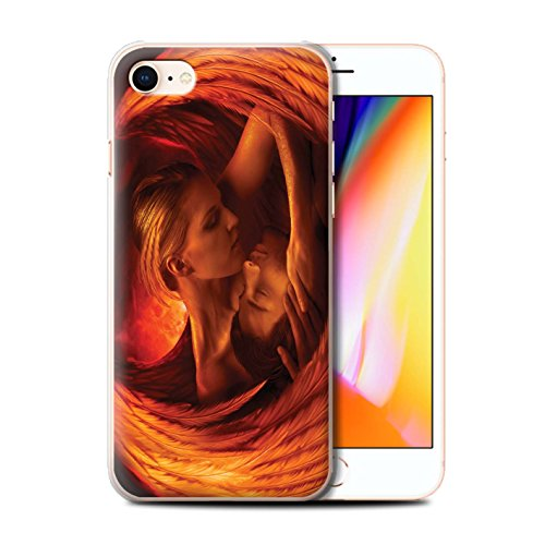 Offiziell Elena Dudina Hülle / Case für Apple iPhone 8 / Meer Kleid Muster / Fantasie Engel Kollektion Gefallen