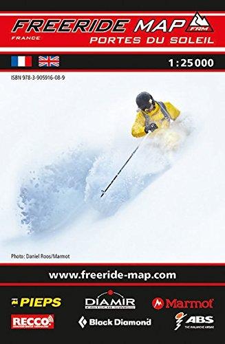 Freeride Map Les Portes du Soleil: Maßstab 1:25 000