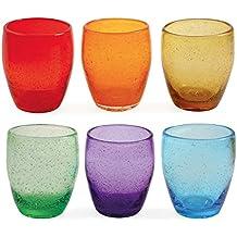 Bicchieri acqua colorati for Bicchieri colorati vetro