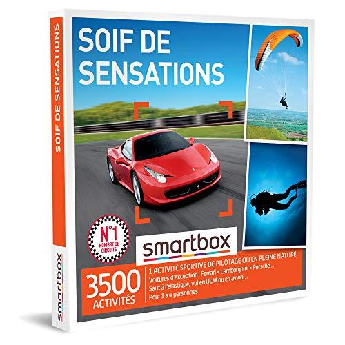 SMARTBOX - Coffret Cadeau homme femme - Soif de sensations - idée cadeau - 3500...