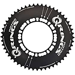 rotor Q 50at-bcd110X 5bandeja para bicicleta unisex, Negro