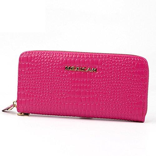 Women 's lungo portafoglio donne' borse cartella portafoglio cartella portafoglio cartella portafoglio portafoglio s ( colore : Fuchsia ) Fuchsia