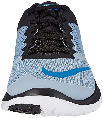 Nike Herren FS Lite Run 3 Laufschuhe, Talla Azul (Azul (Blue Grey/Photo Blue-Black-Wht))