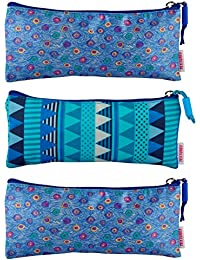 VIBES Satin Travel Pouch (Set Of 3, VB-TK-ONE-SATIN-3 COMBO)