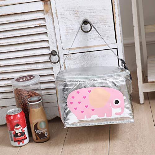 Tensay Isoliert Niedlichen Tier Lunchpaket Für Frauen Männer Kinder Kühler Erwachsene Tote Food Lunchbox, Anzug für Schule Büro Picknick Im (Baby Flug Anzug)