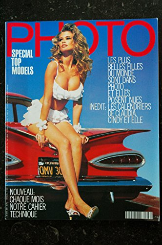 PHOTO 289 SPECIAL TOP MODELS SCHIFFER MacPHERSON CINDY CRAWFORD ELLES POSENT NUE