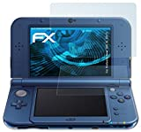 atFoliX Nintendo New 3DS XL (2015) Screen protection Protective film - Set of 3 - FX-Clear crystal clear by Displayschutz@FoliX