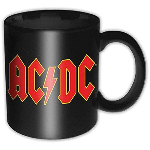 AC DC-tazza in ceramica-Logo-Confezione regalo