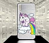 ForeverOne Coque Rigide pour iPhone X Licorne Humour Fun Collection 06