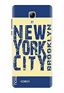 Noise Designer Printed Case / Cover for Micromax Bolt Selfie Q424 / Symbols / Brooklyn Design