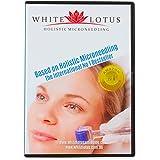 Microneedling (Dermaroller) Holístico Antiedad de White Lotus. DVD basado en libro número 1 de mejor venta internacional 'Microneedling Holístico', por la Worldwide Skin Needling y expertos en microneedling