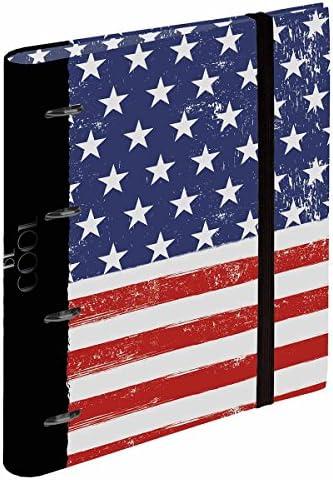Busquets Chemise Anneaux a4 a4 Anneaux USA Flag by 60f7f5