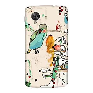DailyObjects Palm Spring Case For LG Google Nexus 5