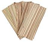 wodewa Juego de chapa de madera Zebrano 4mm de espesor 30 x 14cm | 5 unidades Tableros de madera real para artesanía Modelo manualidades marquetería Restauración