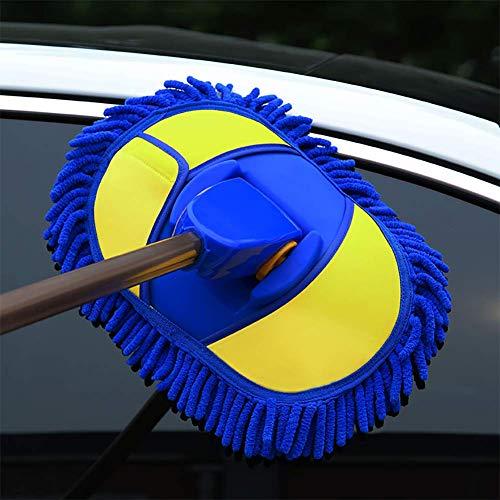 RUIX Auto Mop Duster Autowaschen-Reinigungswerkzeug Mit Teleskopischem Verlängertem Langem Griff