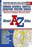 South Wales Valleys (East) Street Atlas