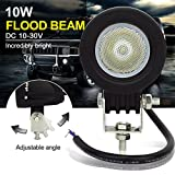 Safego 12 V 24 V 10 W CREE LED work Light Lamp luci di inondazione per camion off Road 4 x 4 ATV trattore 60 gradi rotonda