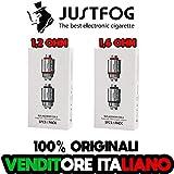 JUSTFOG resistenze Q16, Q14, P16A, P14A - 1,2 1,6 ohm originali 100% (1,6 OHM)