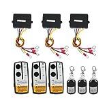 Zimo Funkfernbedienung Wireless Elektrische Seilwinde Fernbedienung Controller 12V für LKW Jeep SUV-ATV 3 Stück