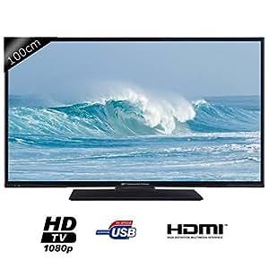 "Téléviseur 40"" LED Continental Edison 40DLEDBMS, FullHD 2xHDMI 1.4"