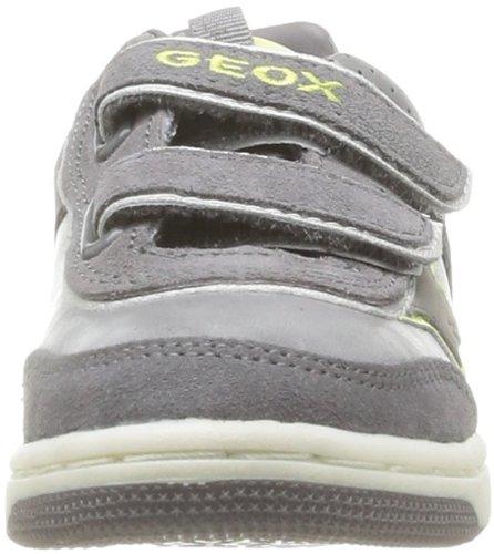 Geox J Creamy C Mädchen Sneaker Grau - Gris (Grey)