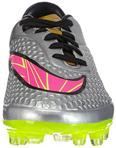 Nike Hypervenom Phelon Premium FG Herren Fußballschuhe Grau (Chrome/Hyper Pink-Mtlc Gld Cn)