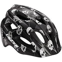 Lazer–Casco Infantil de Nut Z Skulls Black Grey, Patrón, Uni, fa003716030