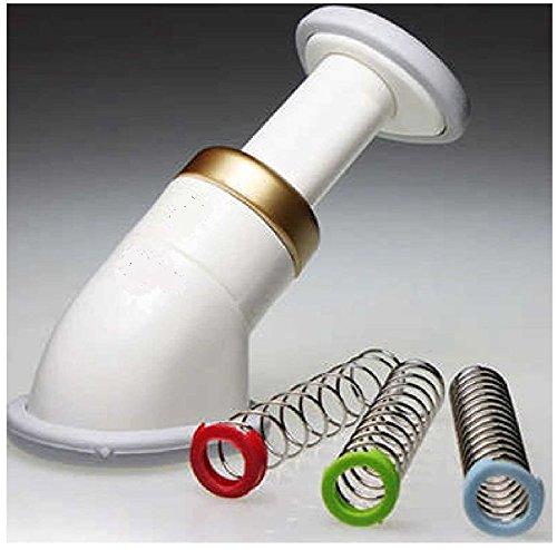 Adore Better Living Sbelt Neck Slimmer - Masajeador manual, reductor de papada, 3 niveles de resistencia