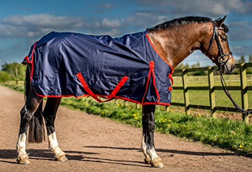 Ridemaster Light weight Horse Turnout Rug No Fill All Sizes Test