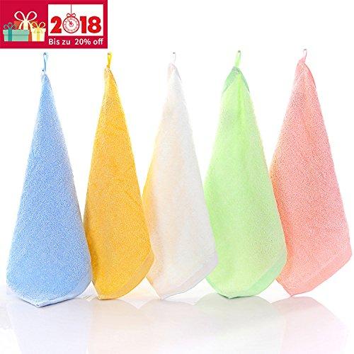 12erPack Baumwoll-Waschlappen Babywaschlappen Baumwolltuch rose od NEU blau