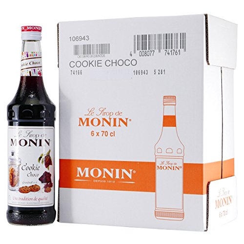 Monin Sirup Cookie Choco 6 x 0,7 l