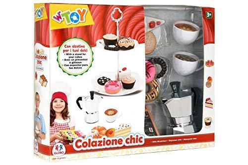 GLOBO- Coffee Set W/Sweeties Plate (38936), (1)