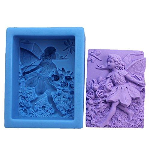 Winkel-Serie Handwerk Kunst Silikon Soap Mold Handwerk DIY Formen handgemachte Kerze Seife Silikonformen (N114) (Silikon Soap Molds Handmade)