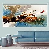 XIAOXINYUAN Abstrakte Golden Gemälde Öl Malerei Wand Bilder Für Wohnzimmer Home Decor Bunte Leinwand Kunst 70 X 140 cm Ohne Rahmen