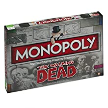 Winning Moves The Walking Dead Monopoly Board Game