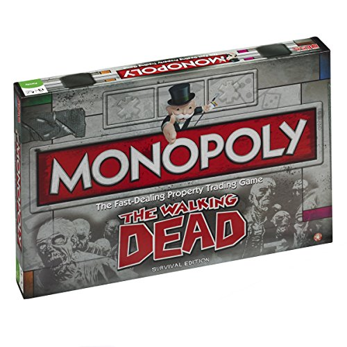 Monopoly The Walking Dead Survival Edition (UK Version)