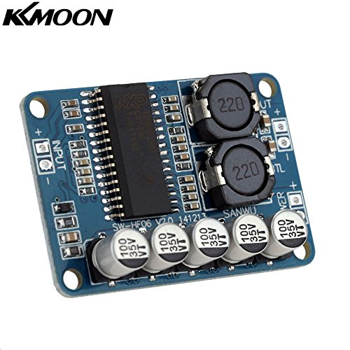 51rz8oTDjyL. SS500  - KKmoon TDA7498 Class D 2 * 100W Dual Channel Audio Stereo Digital Power Amplifier Board DC 15-34V