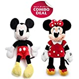 Cips Mickey Mouse Minnie Mouse Soft Toy Teddy Bear(12-inch/30cm)'