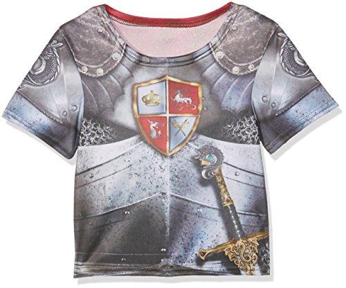 Rubie's 2630862M Knight T-Shirt, Kostüm für Kinder, - Drache Ritter Kinder Kostüm