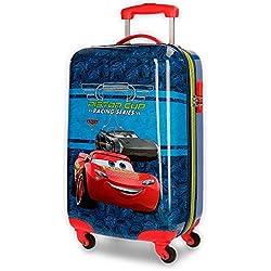 Disney Racing Series Equipaje infantil, 55 cm, 33 litros, Azul